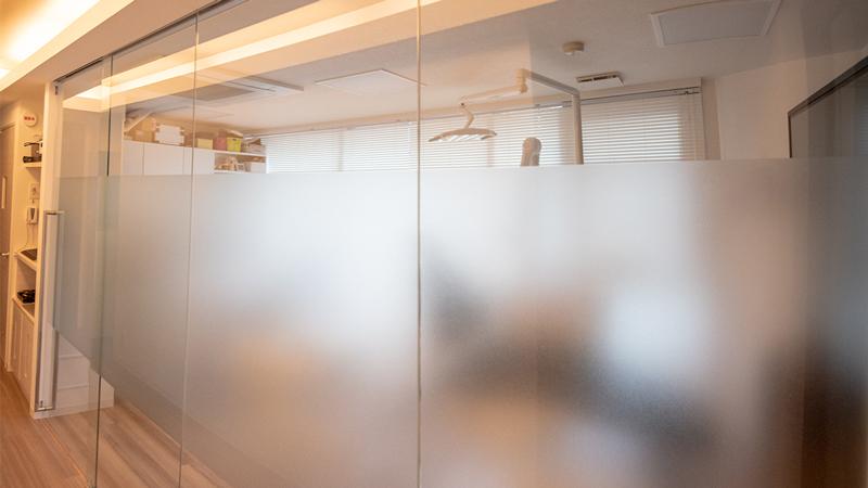 銀座ルミナス歯科 プライバシーを守る診療室